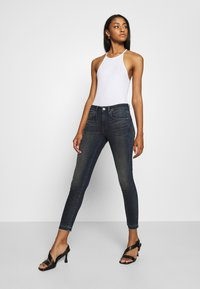 G-Star - 3301 MID SKINNY RIPPED ANKLE  - Jeans Skinny Fit - antic nebulas - 3