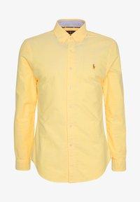 SLIM FIT OXFORD SHIRT - Shirt - yellow oxford