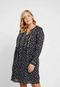 ZAY - YLAURINE DRESS - Shirt dress - black - 0