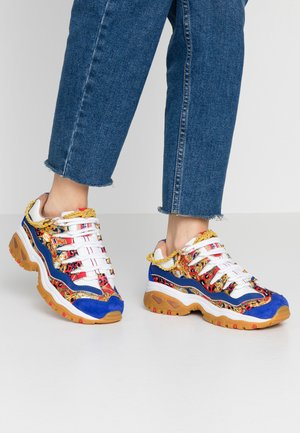 ENERGY - Trainers - blue/white/yellow