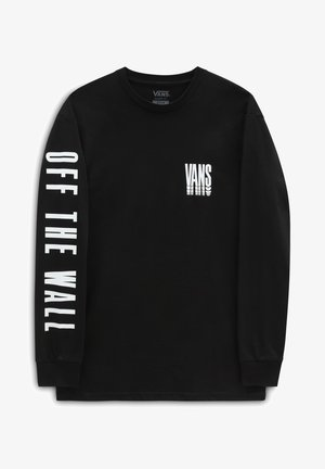 MN VANS REFLECT LS - Long sleeved top - black
