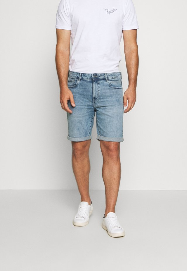 RYDER BLUE 259  - Denim shorts - blue denim