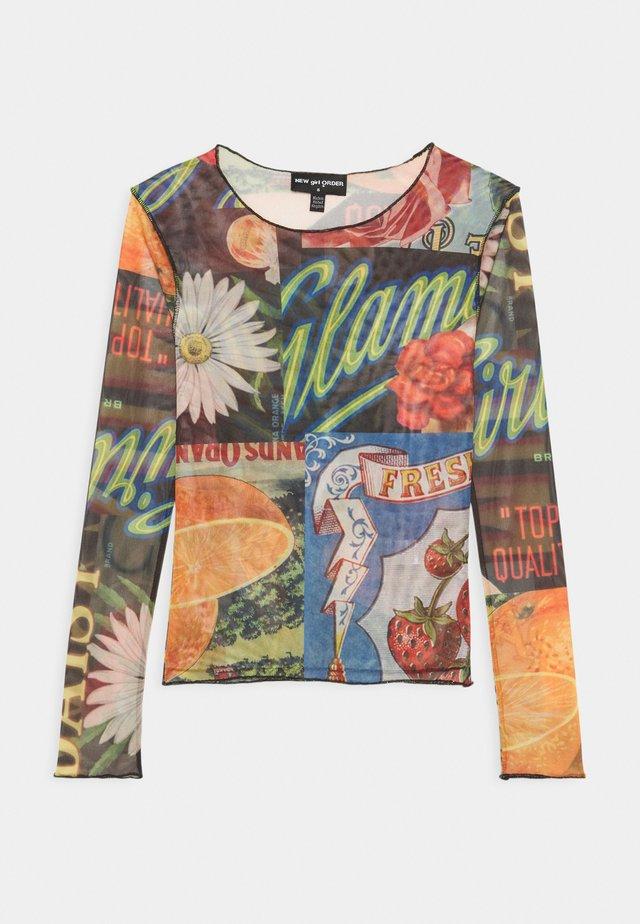 ORANGE  - Långärmad tröja - multi-coloured