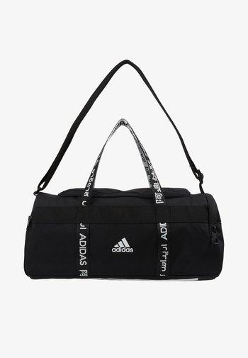 4ATHLTS ESSENTIALS 3STRIPES SPORT DUFFEL BAG - Sportovní taška - black/white