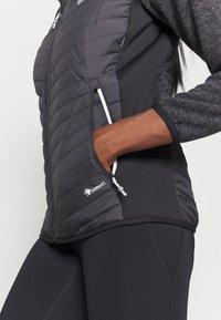 Regatta - PEMBLE II HYBRID - Fleece jacket - ash/black - 5