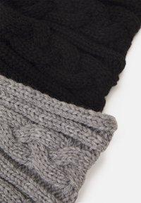 Anna Field - 2 PACK - Ear warmers - black/grey - 2