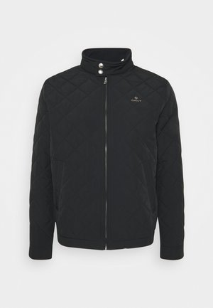 QUILTED WINDCHEATER - Light jacket - black