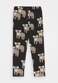 Lindex - MINI KOALA UNISEX - Leggings - Trousers - off black - 1