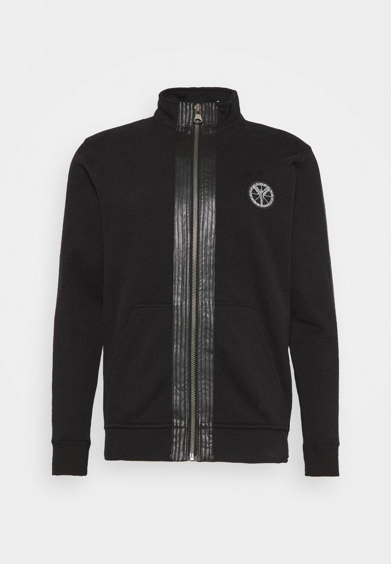 Carlo Colucci - Zip-up hoodie - black