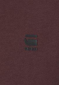 G-Star - LASH ROUND SHORT SLEEVE - Basic T-shirt - dark fig - 6