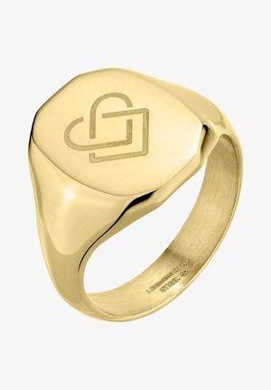 AUS EDELSTAHL - Ring - gold