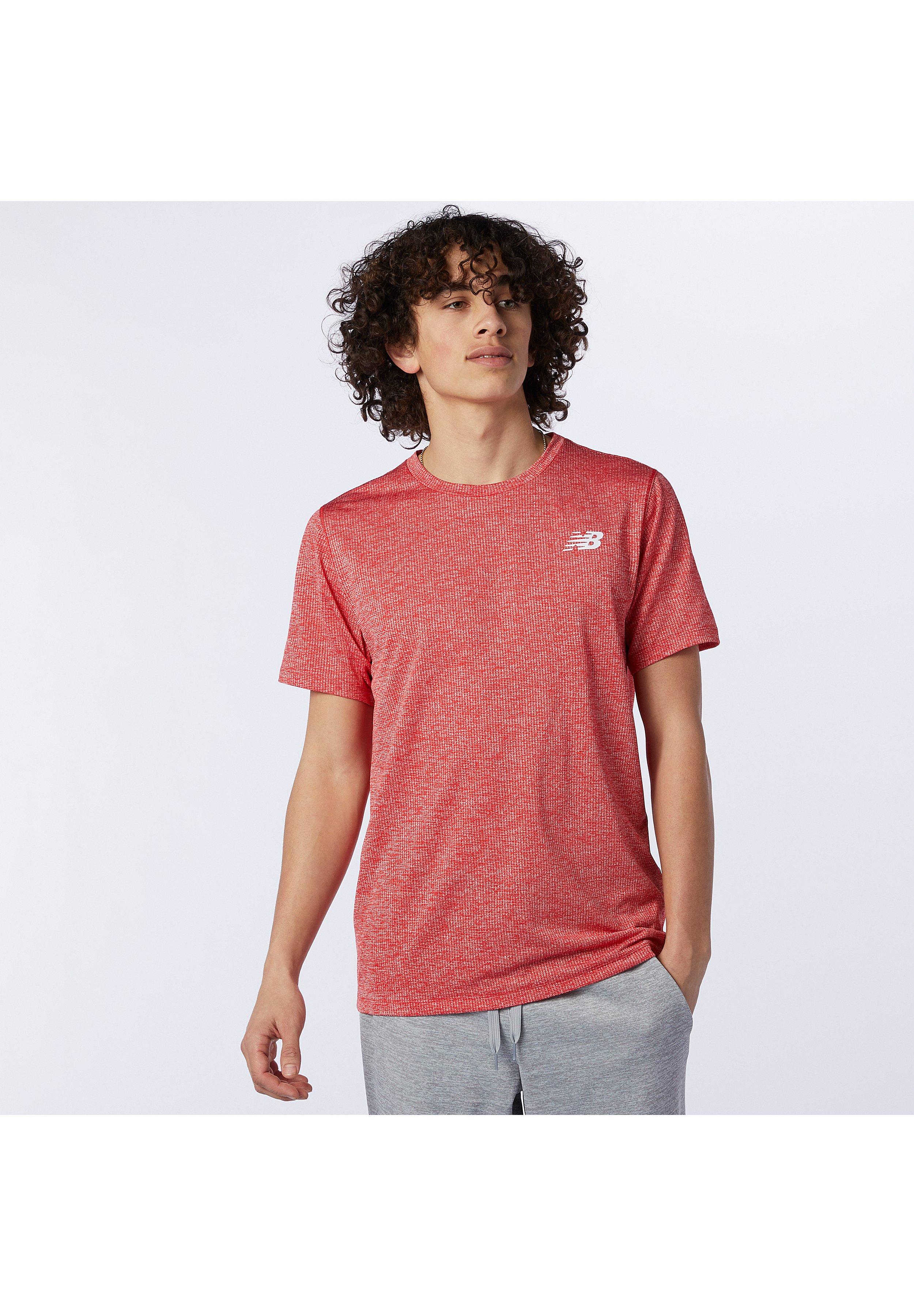 Hombre TENACITY - Camiseta básica - team red inline