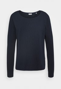 Marc O'Polo DENIM - LONG SLEEVE CREW NECK REGULAR FIT - Long sleeved top - scandinavian blue - 0
