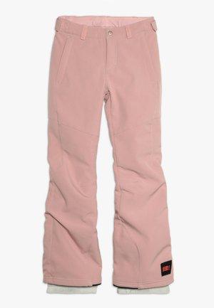 CHARM SLIM PANTS - Zimní kalhoty - bridal rose