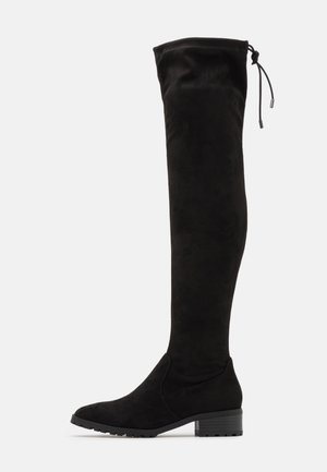 BASIC PROFILE SOLE  - Over-the-knee boots - black