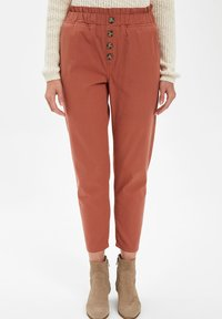 DeFacto - Trousers - bordeaux - 0