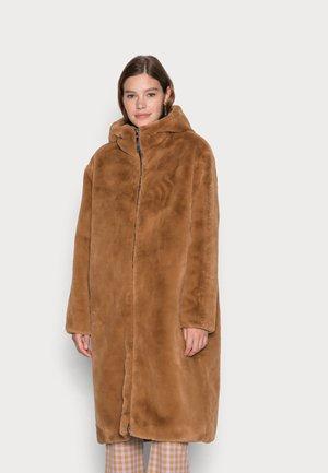 NMNAMJOON JACKET - Winter coat - tobacco brown