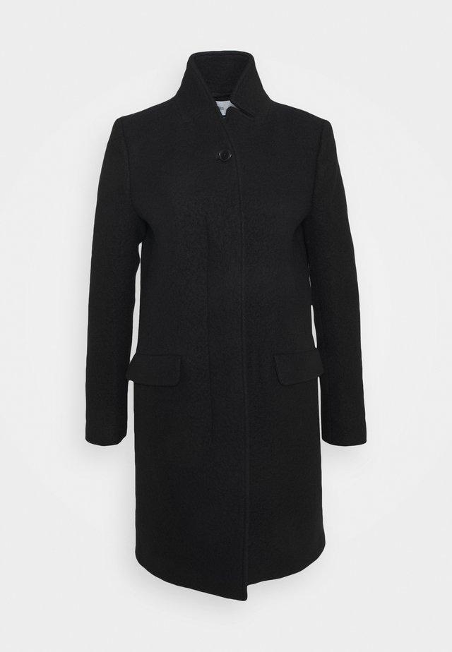 PURE PORI - Zimní kabát - black