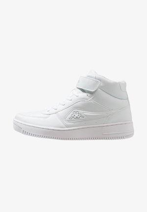BASH MID - Sportovní boty - white/light grey