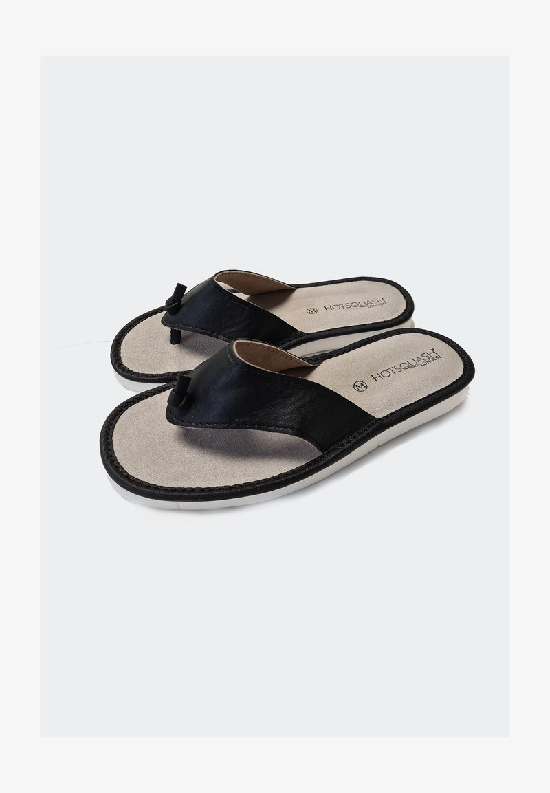 HotSquash - T-bar sandals - black