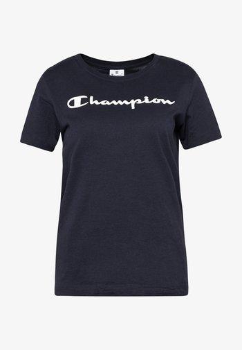 CREWNECK - Print T-shirt - navy
