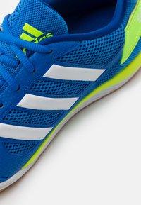 adidas Performance - TOP SALA - Indoor football boots - glory blue/footwear white/team royal blue - 5