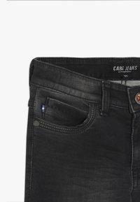 Cars Jeans - BURGO - Slim fit jeans - black used - 3