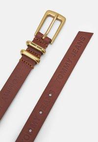 Tommy Jeans - ESSENTIAL BELT - Cinturón - brown - 1