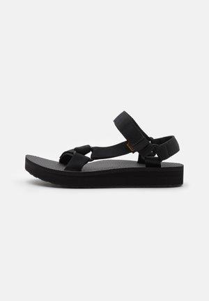 MID UNIVERSAL - Chodecké sandály - black