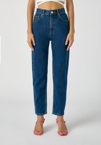 PULL&BEAR - Straight leg jeans - stone blue denim - 0