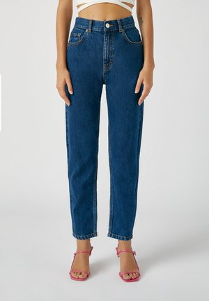 Straight leg jeans - stone blue denim