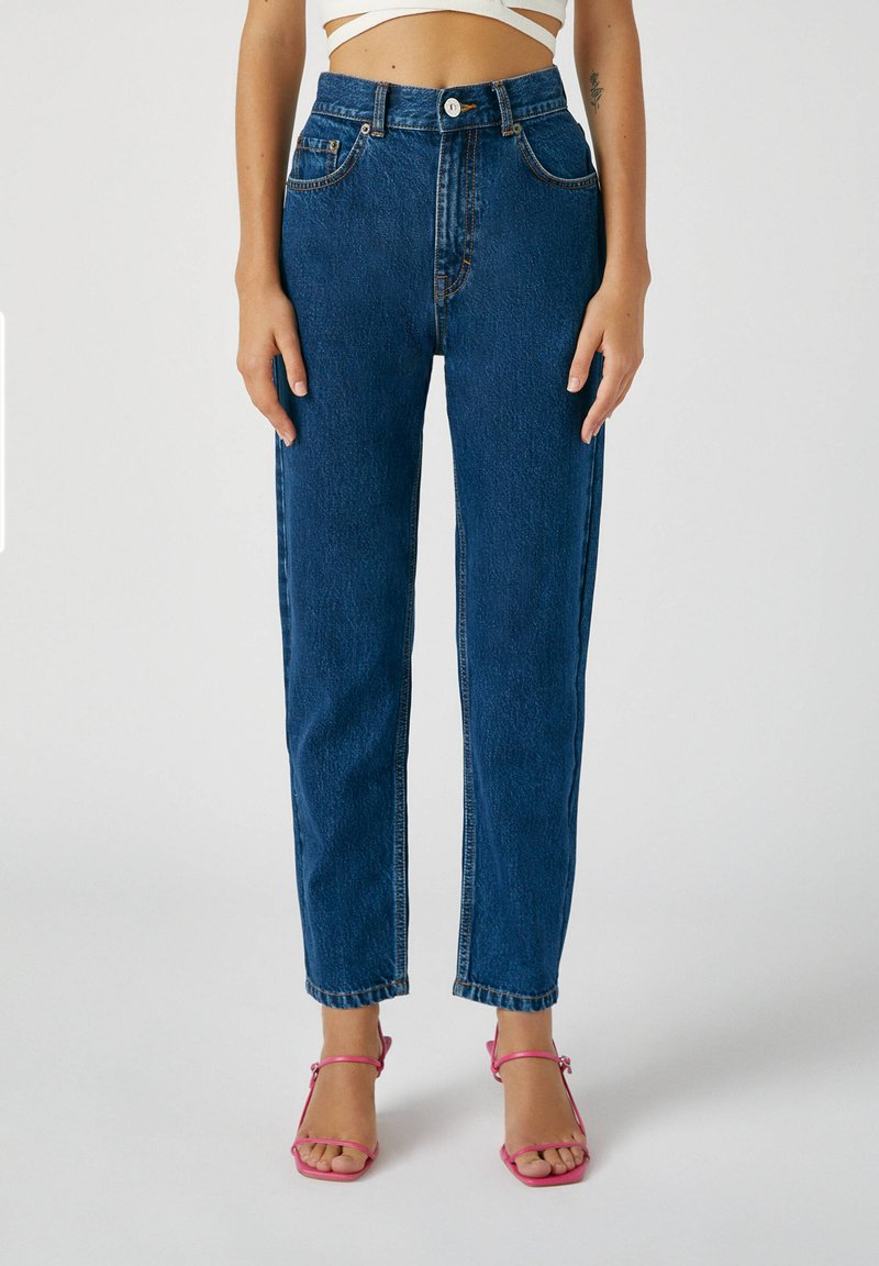 PULL&BEAR - Straight leg jeans - stone blue denim