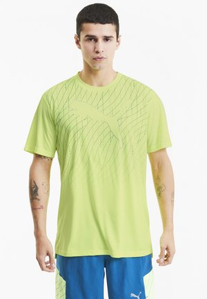 Print T-shirt - fizzy yellow