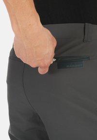 Mammut - RUNBOLD PANTS  - Trousers - dark grey - 2