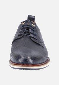 Pantofola d'Oro - FIUGGI UOMO - Sportlicher Schnürer - blue - 6