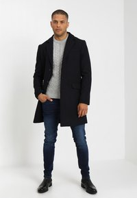 Pier One - Classic coat - dark blue - 1