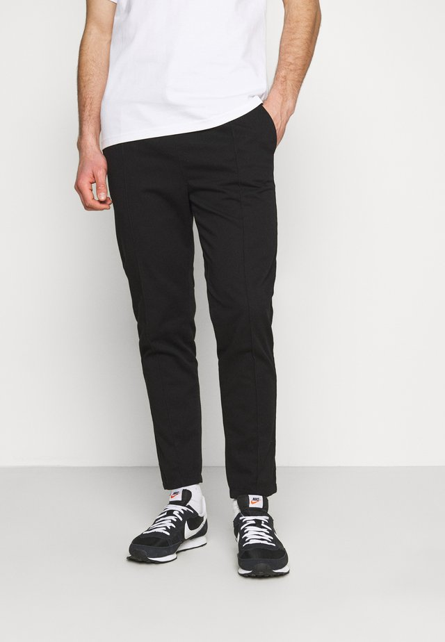 MANOR TROUSER - Broek - black