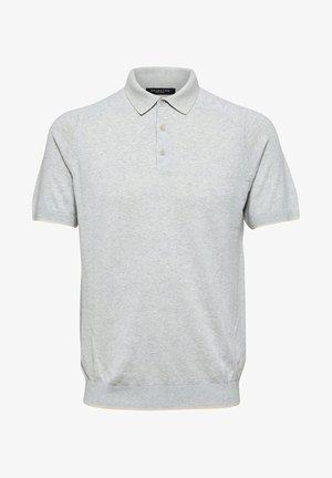 Poloshirts - silver cloud