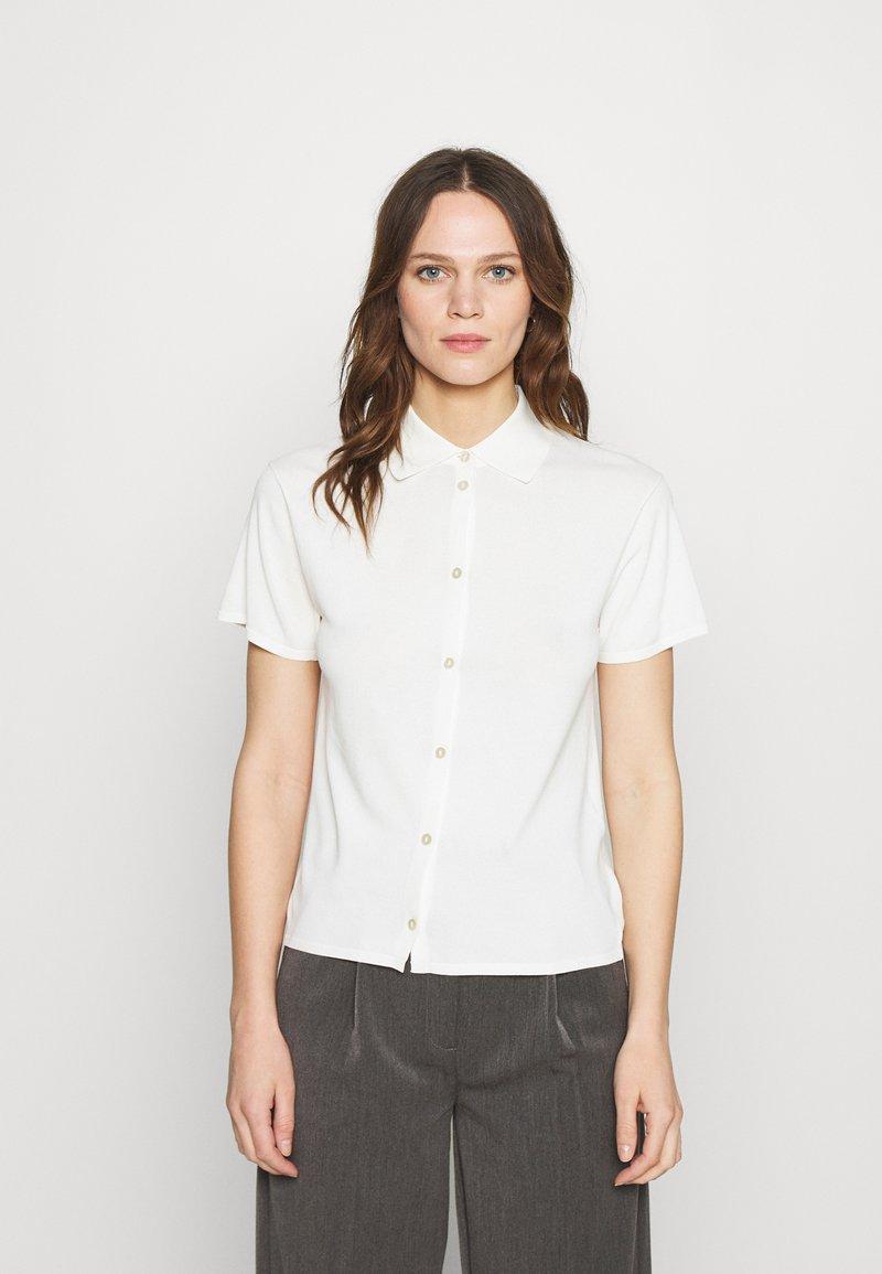 Samsøe Samsøe - JANA - Print T-shirt - clear cream