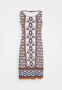 comma - ÄRMELLOS - Žerzejové šaty - blue ink - 4