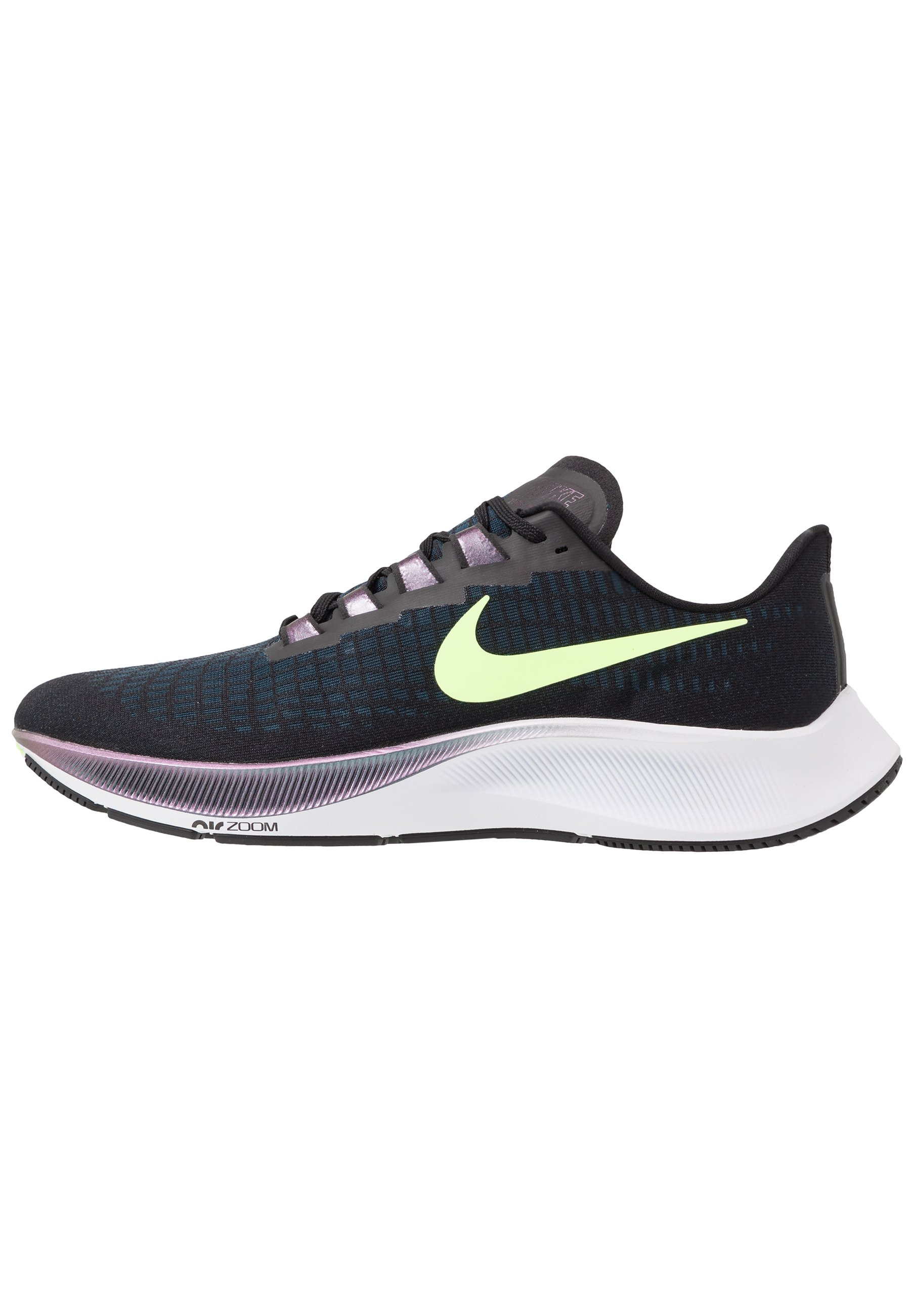 AIR ZOOM PEGASUS 37 - Zapatillas de running neutras - black/ghost  green/valerian blue
