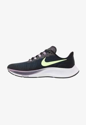 AIR ZOOM PEGASUS 37 - Obuwie do biegania treningowe - black/ghost green/valerian blue