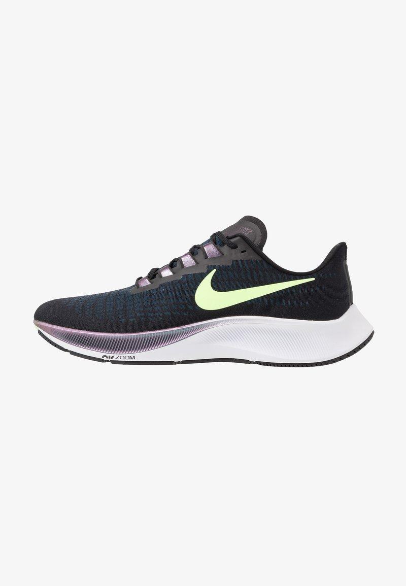 Nike Performance - AIR ZOOM PEGASUS 37 - Obuwie do biegania treningowe - black/ghost green/valerian blue