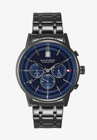 Tommy Hilfiger - CASUAL - Chronograph watch - black/blue - 1