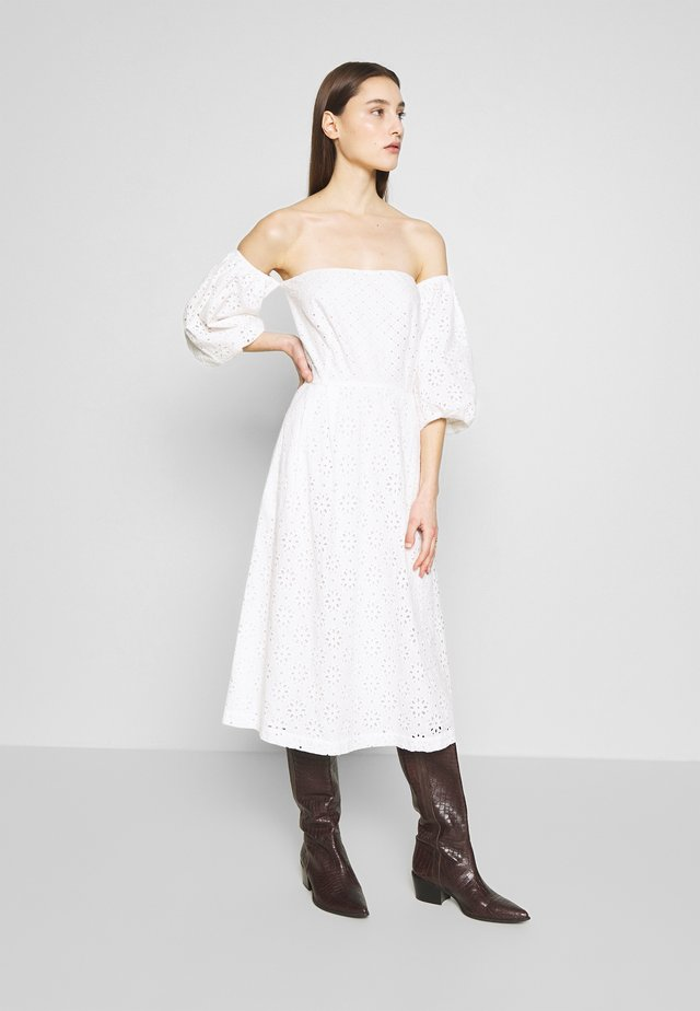 CASA - Day dress - white fog