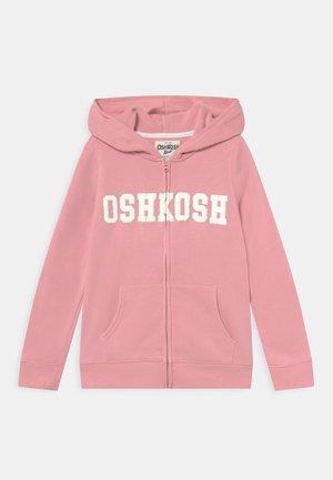 LOGO HOODIE - Zip-up sweatshirt - light pink