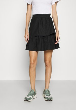 SMILLA SKIRT - A-line skirt - black