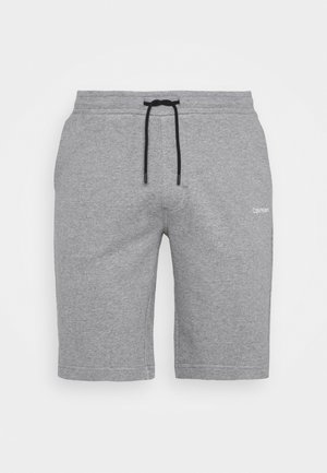 LOGO EMBROIDERY  - Tracksuit bottoms - grey