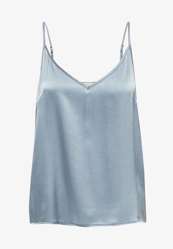 Top - dusty blue