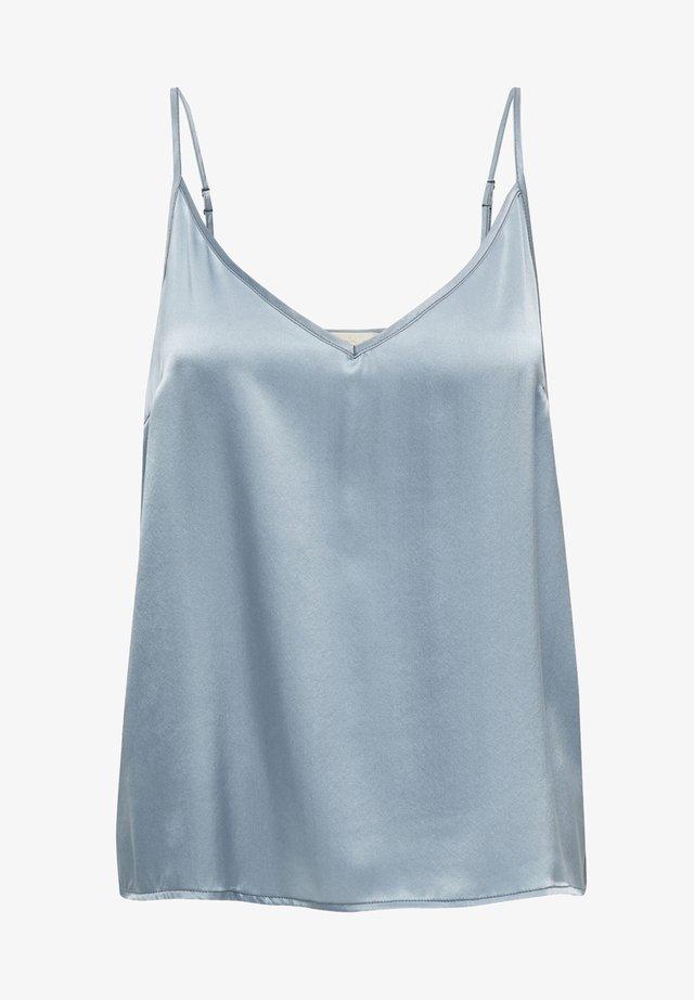 Linne - dusty blue